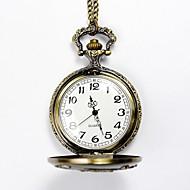 cheap Watch Deals-Men's Pocket Watch Quartz Alloy Band Yellow