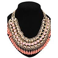 Γυναικεία Κολιέ Δήλωση Coliere cu Perle Μαργαριτάρι Κράμα Μοντέρνα Κοσμήματα με στυλ χαριτωμένο στυλ Ευρωπαϊκό κοστούμι κοστουμιών