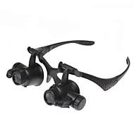 2 Led Watch Repair 10X / 15X / 20X / 25X Magnifying Glasses
