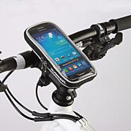 baratos Acessórios para Ciclismo-ROSWHEEL Bolsa para Guidão de Bicicleta Bolsa Celular 4.8 polegada Á Prova de Humidade Zíper á Prova-de-Água Vestível Sensível ao Toque