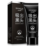 voordelige Make-up & Nagelverzorging-1 Masker Nat Kaki Witter Maken / Poriënverkleinend / Tegen acné / Cleansing / Mee-eters Gezicht Zwart Fade China BIOAQUA