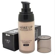 billige Sminke og neglepleje-1 Foundation Våd Flydende Blegende Fugt Dekning Olie kontrol Concealer Ujævn hud Naturlig porereducerende Åndbart Andet Ansigt Naturlig