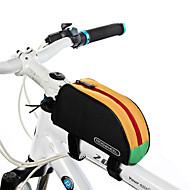 billige -ROSWHEEL® Sykkelveske 1LVesker til sykkelramme Vanntett Glidelås / Fukt-sikker / Støtsikker / Anvendelig Sykkelveske PVC / 600D Polyester