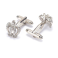 cheap Cufflinks-Silver Cufflinks Alloy Work / Casual Men's Costume Jewelry For