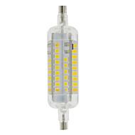 3W R7S LED-maissilamput T 60 ledit SMD 2835 Vedenkestävä Koristeltu Lämmin valkoinen Kylmä valkoinen 250-300lm 3000-6500K AC 220-240V
