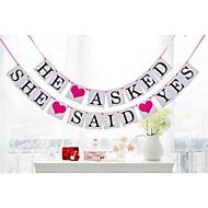 voordelige Bruiloftdecoraties-Bruiloft / Vuosipäivä / Verloving / Bruidsshower Hard Kaart Paper Bruiloftsdecoraties Strand Thema / Tuin Thema / Bloemen Thema Winter