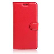 お買い得  携帯電話ケース-ケース 用途 モトG / Motorola / モトネクサス6 Motorolaケース ウォレット / カードホルダー / スタンド付き フルボディーケース ソリッド ハード PUレザー のために Moto Z / Moto X Play / Moto G4 Play