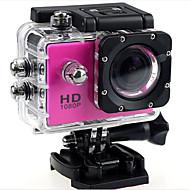 voordelige Sportcamera's & Accessoires voor GoPro-/ Actiecamera / Sportcamera Klem aderige kabel Batterij Oplader Waterdichte behuizing hoesje Kabel 1.3 MP 1280 x 720 Verstelbaar