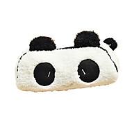 사랑스러운 검은 색과 흰색 팬더 패브릭 다목적 지갑 (1 개)
