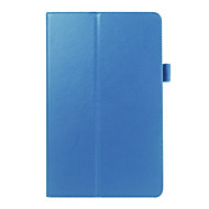 Folding  Leather Case Lie fallow PU Tablet Computer Protection Shell for Samsung TAB E T560 Assorted Colors