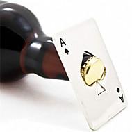 neue stilvolle heiße Verkauf 1pc Poker Spielkarte Pik-As bar Werkzeug Soda Bier Flaschenöffner Geschenk