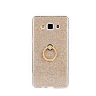 Для Кейс для  Samsung Galaxy Защита от удара / со стендом Кейс для Задняя крышка Кейс для Сияние и блеск Мягкий TPU SamsungA8 / A7 / A5 /