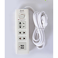 2 USB Ports Multi Ports AU Plug Portable Charger Universal Adapter