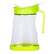 お買い得  収納&整理-1個 オイルディスペンサー プラスチック ガラス 使いやすい キッチン組織