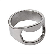 5db gyűrű sör sörnyitó rozsdamentes acél ujj hüvelykujj kulcstartó forgács