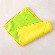 abordables Trapos de cocina-aceite de trapo prueba fácil herramientas de limpieza de tela, textil (color al azar)