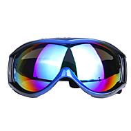 abordables Accesorios para Deportes de Invierno-profesionales contra la niebla gafas de hombres y mujeres de una sola capa de esquí de la lente