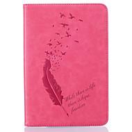 Varten Korttikotelo / Other Etui Kokonaan peittävä Etui Kukka Pehmeä Tekonahka Apple iPad Mini 4