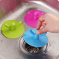 Cup  cover Silicone Can Pool Water Plugging Plug  Kitchen Bathroom Odor Sewer Lid Random Color