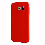 Недорогие Чехлы и кейсы для Galaxy S-Кейс для Назначение SSamsung Galaxy Кейс для  Samsung Galaxy Other Чехол Сплошной цвет Твердый ПК для S7 S6