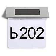 お買い得  LED ソーラーライト-LEDソーラーライト 装飾用 ナチュラルホワイト <5 V ホーム/オフィス 4 LEDビーズ / #