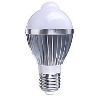 5W B22 E26/E27 Smart LED-lampe A50 1 Højeffekts-LED 400-550 lm RGB Sensor Vekselstrøm 85-265 V 1 stk.