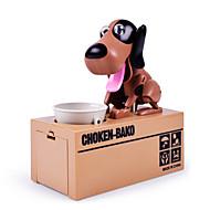 voordelige Spellen-Mechanische spaarpot Spaardoosje Diefspaarpot Spaarpot Kofferspaarpot Robothond Speeltjes Noviteit Honden ABS 1pcs Stuks Kinderen
