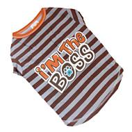 お買い得  -犬 Tシャツ 犬用ウェア コーヒー コットン コスチューム ペット用 夏