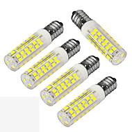 お買い得  LED コーン型電球-JIAWEN 400-480 lm E14 LEDコーン型電球 T 75 LEDの SMD 3528 装飾用 温白色 クールホワイト AC 220-240V