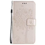 cheap Galaxy J Series Cases / Covers-Case For Samsung Galaxy Samsung Galaxy Case Wallet / Card Holder / with Stand Full Body Cases Tree Soft PU Leather for Xcover 3 / J7 (2016) / J7
