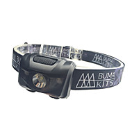 Headlamps Safety Lights Headlight LED - Cycling Waterproof Easy Carrying Color-Changing AAA 180 Lumens Battery Camping/Hiking/Caving