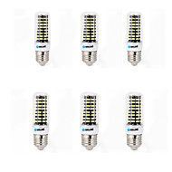 cheap LED Corn Lights-6W E14 G9 GU10 B22 E26/E27 LED Corn Lights B 80 SMD 5733 700 lm Warm White Cold White K Decorative AC 220-240 V