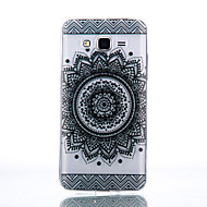 billige Galaxy Core Prime Etuier-Etui Til Samsung Galaxy Samsung Galaxy etui Transparent Bagcover Mandala-mønster Blødt TPU for J7 J5 (2016) J5 J3 (2016) Grand Prime Core
