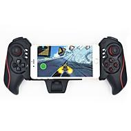 abordables Grandes Ofertas-regulador telescópico recargable del juego del bluetooth del gamepad para el teléfono androide del ipad del iphone de 4.6 a 10.6 pulgadas