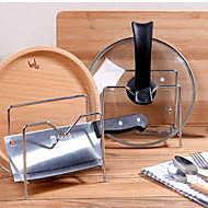 Kitchen Supplies Stainless Steel Knife Cutting Board Chopstick Holder Kitchen Shelf