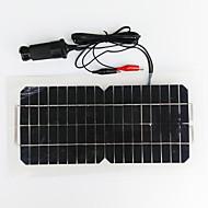 お買い得  LED ソーラーライト-zdm®5.5w 12v usbの出力単結晶シリコン太陽電池のバッテリーの自由な電池(dc12-18v)