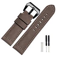 Недорогие Аксессуары для смарт-часов-Ремешок для часов для Fenix 3 Garmin Спортивный ремешок Металл Кожа Повязка на запястье