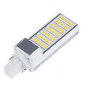 billige LED-lamper med G-sokkel-6.5W E14 G23 G24 E26/E27 LED-lamper med G-sokkel T 35 leds SMD 5050 Dekorativ Varm hvid Kold hvid 750-800lm 3000/6000K Vekselstrøm 85-265