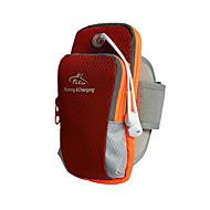 L Fascia da braccio Bag Cell Phone per Ciclismo/Bicicletta Fitness Corsa Jogging Borse per sport Striscia riflettente Ompermeabile