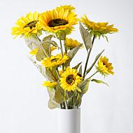 abordables Flores Artificiales-Flores Artificiales 1 Rama Estilo Pastoral Otros Flor de Mesa
