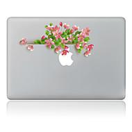 1 stuks Krasbestendig Bloem Transparante kunststof Lichaamssticker Patroon VoorMacBook Pro 15'' with Retina MacBook Pro 15 '' MacBook Pro