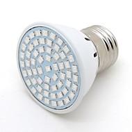 abordables Luces de Crecimiento-2 W 200 lm E26 / E27 Luces LED para Crecimiento Vegetal G50 60 Cuentas LED SMD 2835 Decorativa Azul 220-240 V / 1 pieza