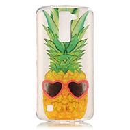 お買い得  携帯電話ケース-ケース 用途 LG K8 LG LG K4 LG K10 LG K7 LGケース IMD クリア パターン バックカバー 果物 ソフト TPU のために