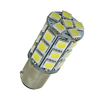 baratos -10 pcs branco super BA15d 27-SMD 5050 lâmpadas led barco marine 1142 1178 1130