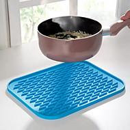 1pc avrupa anti-sıcak su geçirmez yalıtım pedi mutfak gereçleri