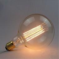 e27 40w g125 스트레이트 와이어 전구 에디슨 복고풍 전구 장식용 전구