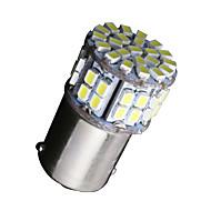 Недорогие Сигнальные огни для авто-SO.K 1156 Автомобиль Лампы 3W W Epistar SMD 3528 300lm lm 27 Светодиодная лампа Задний свет ForУниверсальный