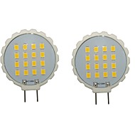 G8 Luci LED Bi-pin T 16 leds SMD 2835 Impermeabile Decorativo Bianco caldo Luce fredda 300-350lm 3000/6000K AC 220-240 AC 110-130V