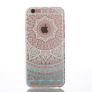Case For Apple iPhone 6 iPhone 6 Plus Other Back Cover Mandala Soft TPU for iPhone 6s Plus iPhone 6s iPhone 6 Plus iPhone 6 iPhone SE /