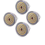 お買い得  LED スポットライト-youoklight 4pcs mr16 6.5w 500-550lm暖かい白3000k 48 smd 2835 ledスポットライト(ac12v)